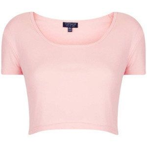 Topshop Blush Pink Crop Top
